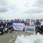カシワテック海の清掃活動