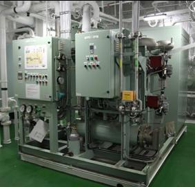 膜式窒素ガス 発生装置ユニット